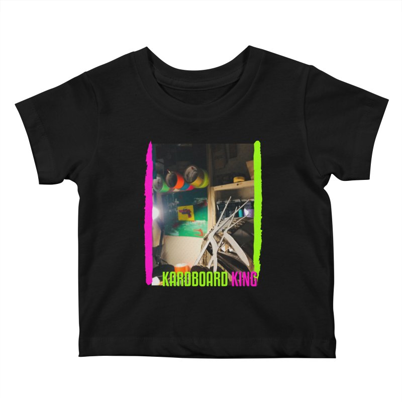 KINGS COLOR DESK Kids Baby T-Shirt by Kardboard King's Shop