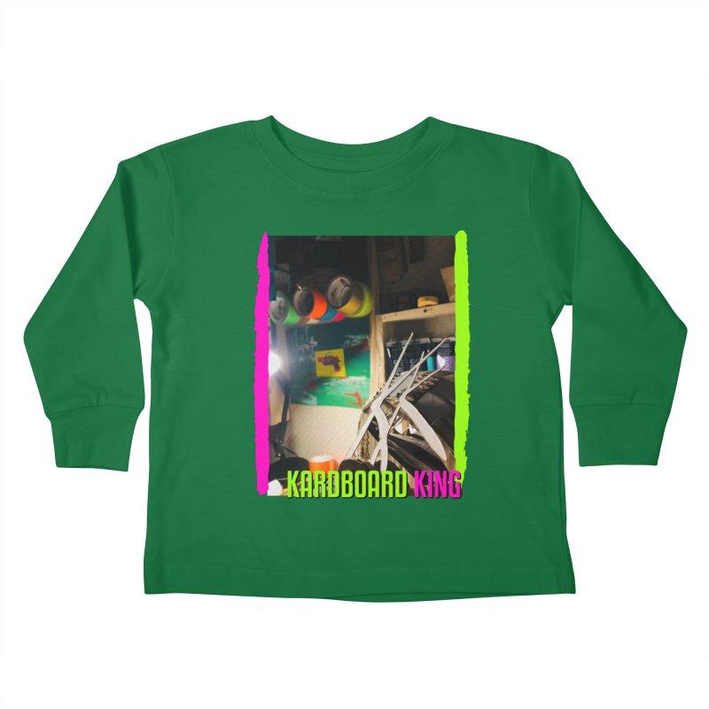 KINGS COLOR DESK Kids Toddler Longsleeve T-Shirt by Kardboard King's Shop