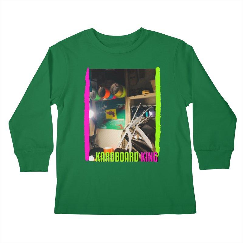 KINGS COLOR DESK Kids Longsleeve T-Shirt by Kardboard King's Shop