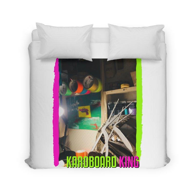 KINGS COLOR DESK Home Duvet by Kardboard King's Shop