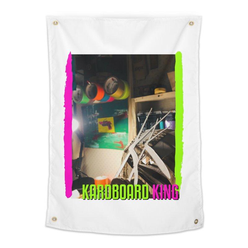 KINGS COLOR DESK Home Tapestry by Kardboard King's Shop