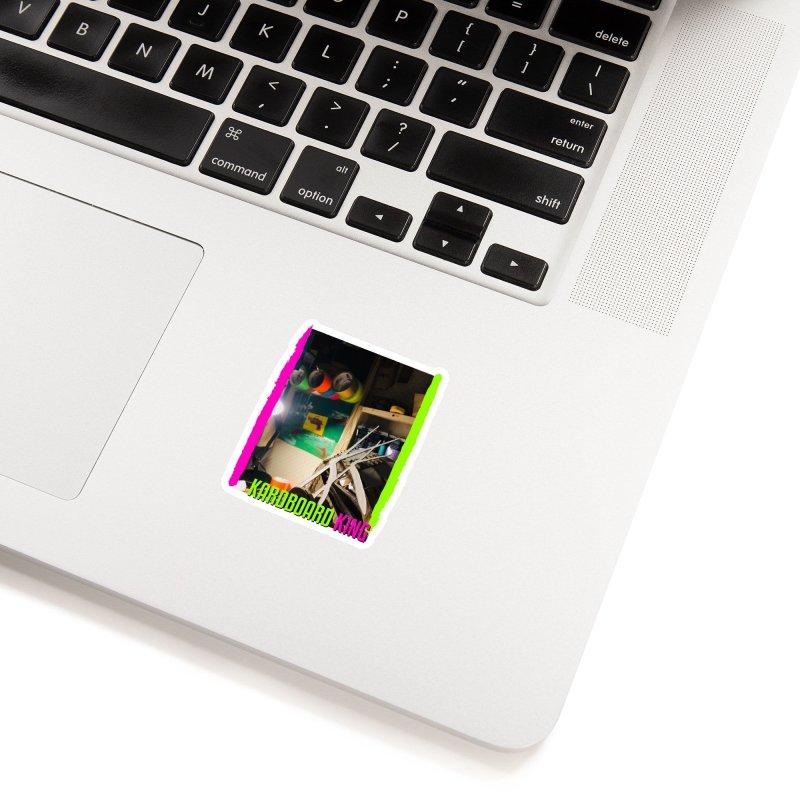 KINGS COLOR DESK Accessories Sticker by Kardboard King's Shop