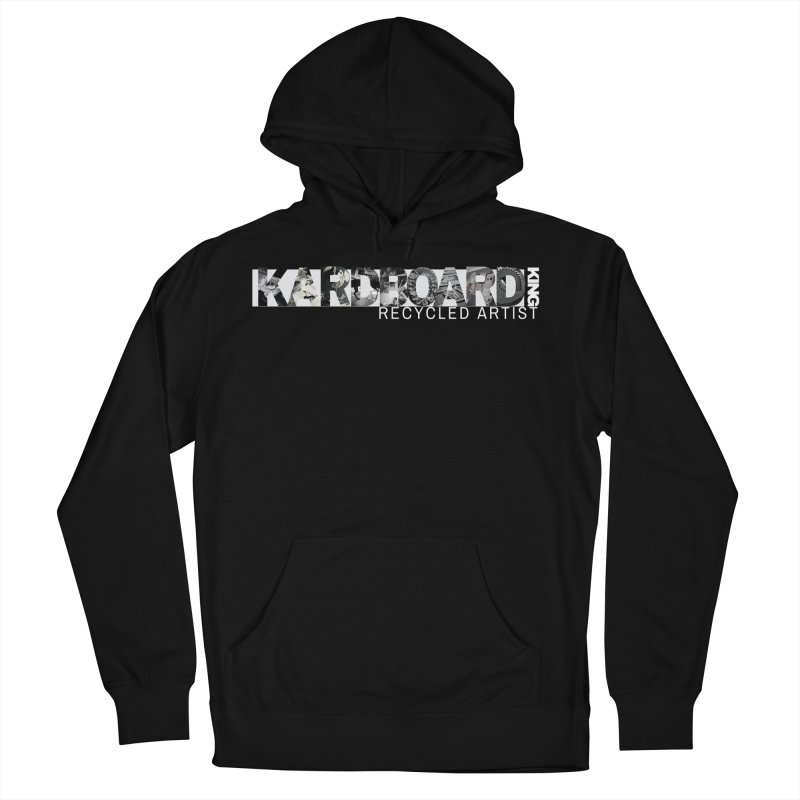 king photo logo 2 Women's French Terry Pullover Hoody by Kardboard King's Shop