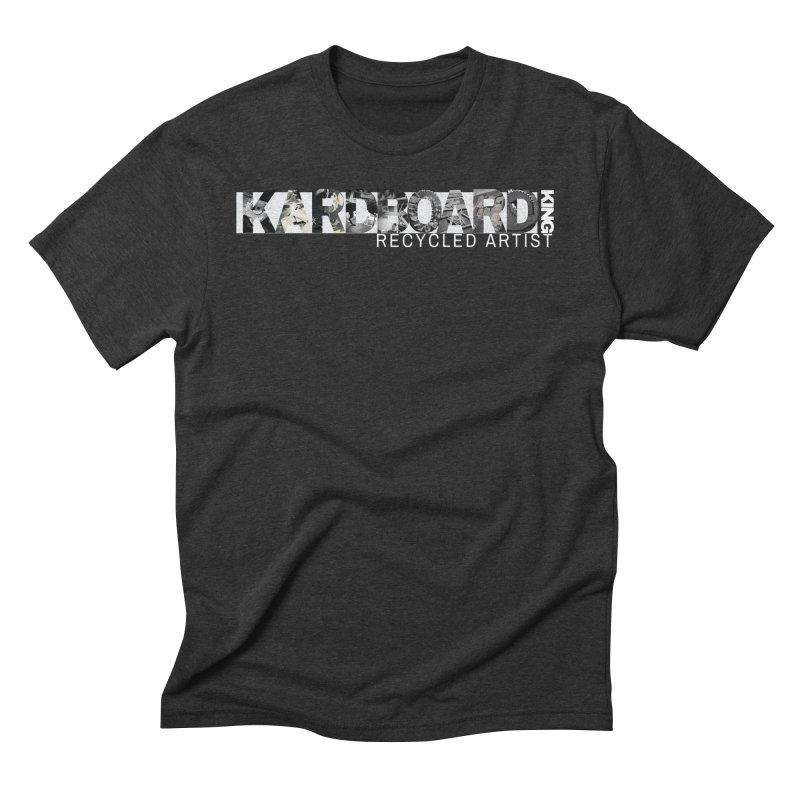 king photo logo 2 Men's Triblend T-Shirt by Kardboard King's Shop