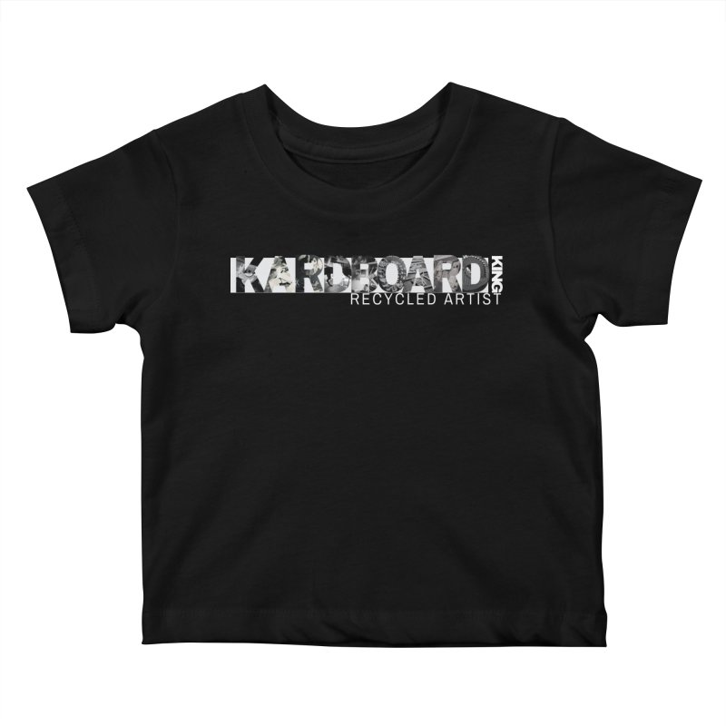 king photo logo 2 Kids Baby T-Shirt by Kardboard King's Shop