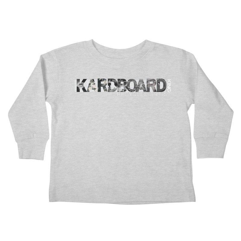 king photo logo 2 Kids Toddler Longsleeve T-Shirt by Kardboard King's Shop