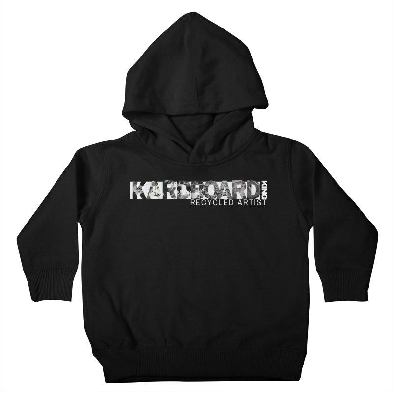 king photo logo 2 Kids Toddler Pullover Hoody by Kardboard King's Shop