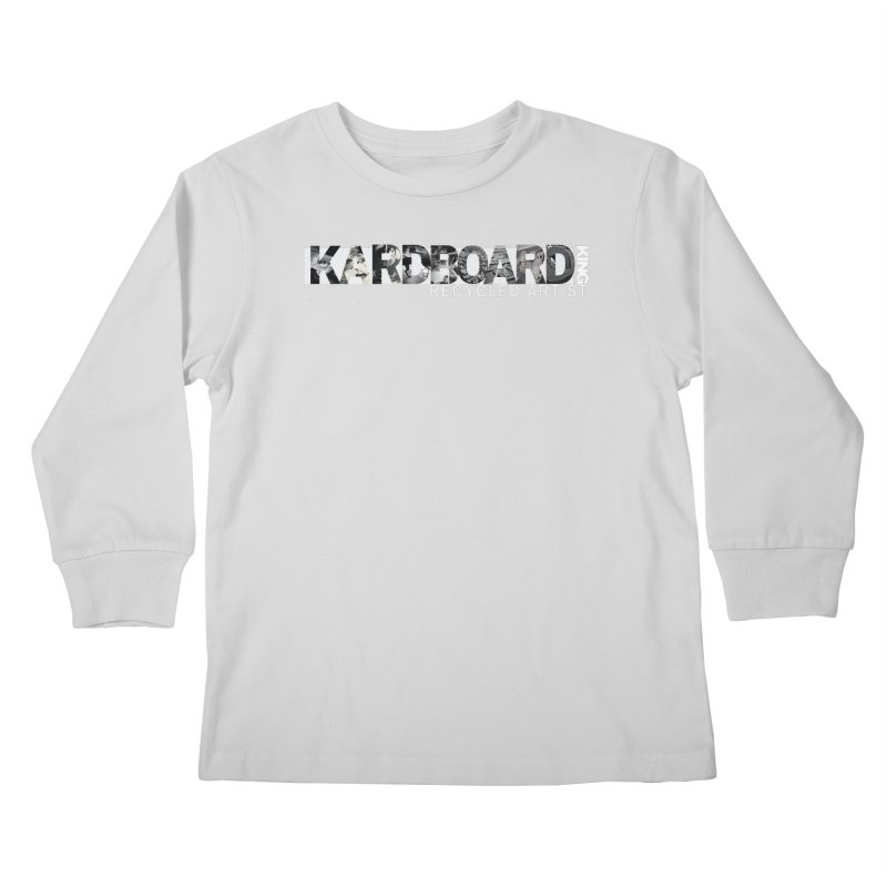 king photo logo 2 Kids Longsleeve T-Shirt by Kardboard King's Shop