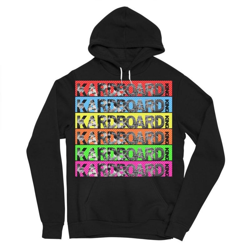 RAINBOW PHOTO LOGO Men's Sponge Fleece Pullover Hoody by Kardboard King's Shop