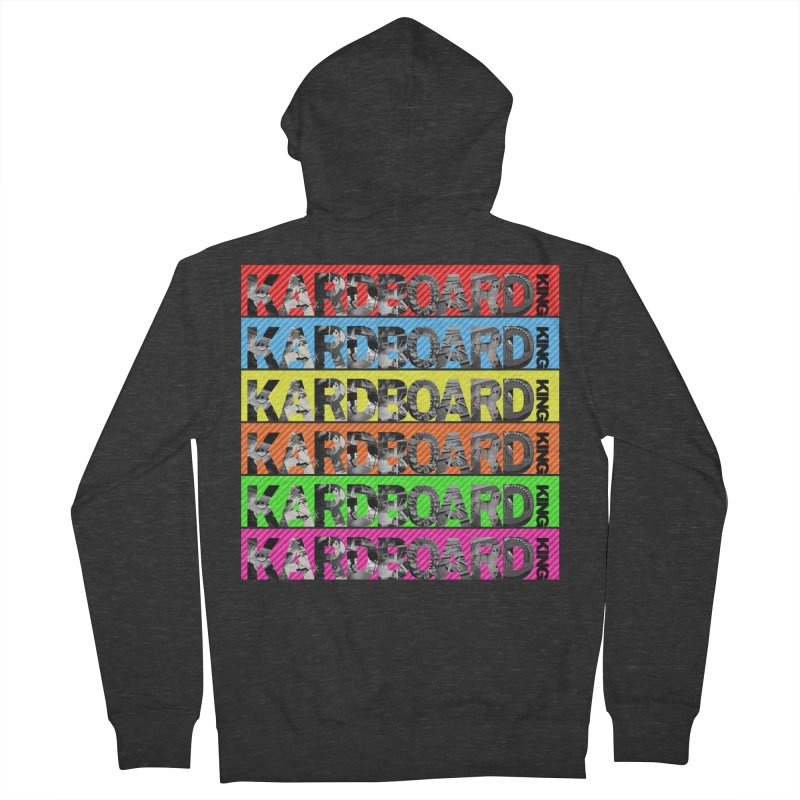 RAINBOW PHOTO LOGO Women's French Terry Zip-Up Hoody by Kardboard King's Shop