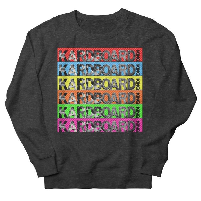 RAINBOW PHOTO LOGO Women's French Terry Sweatshirt by Kardboard King's Shop