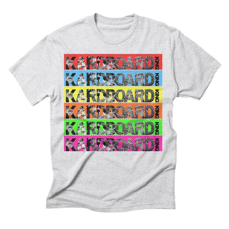 RAINBOW PHOTO LOGO Men's Triblend T-Shirt by Kardboard King's Shop