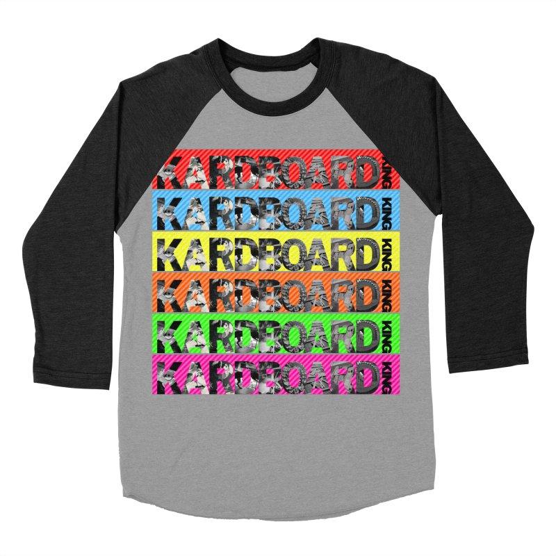 RAINBOW PHOTO LOGO Women's Baseball Triblend Longsleeve T-Shirt by Kardboard King's Shop