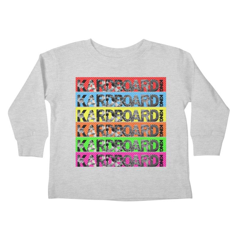 RAINBOW PHOTO LOGO Kids Toddler Longsleeve T-Shirt by Kardboard King's Shop