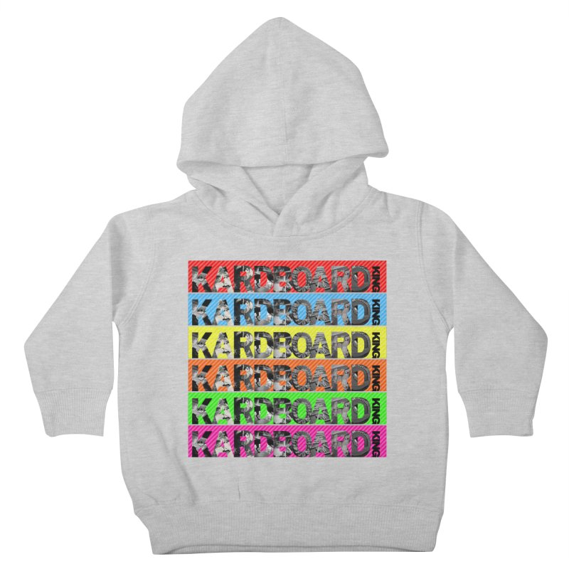 RAINBOW PHOTO LOGO Kids Toddler Pullover Hoody by Kardboard King's Shop