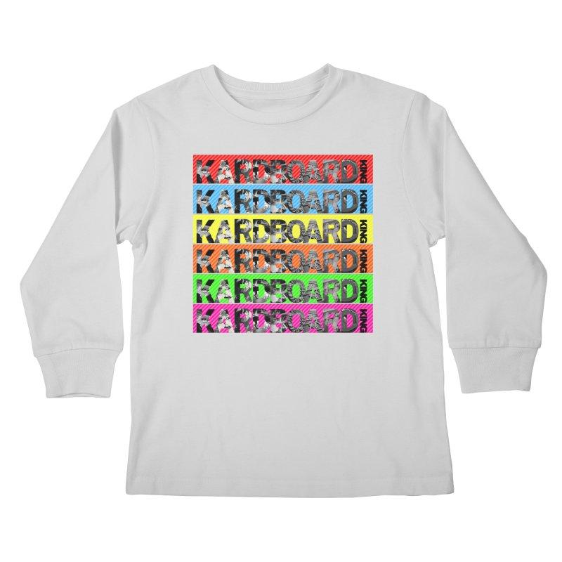 RAINBOW PHOTO LOGO Kids Longsleeve T-Shirt by Kardboard King's Shop
