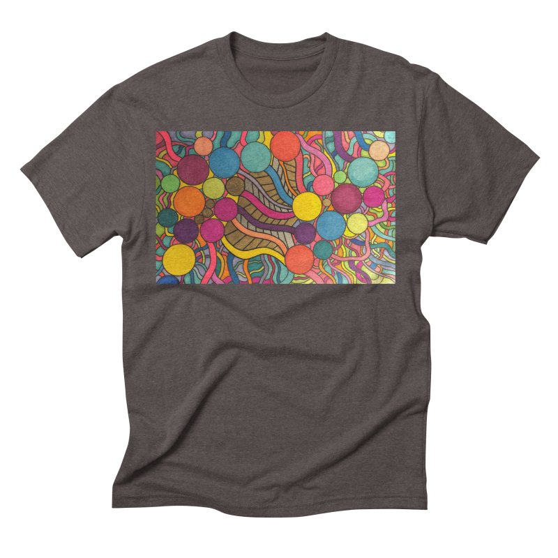 King Original Circles Men's Triblend T-Shirt by Kardboard King's Shop