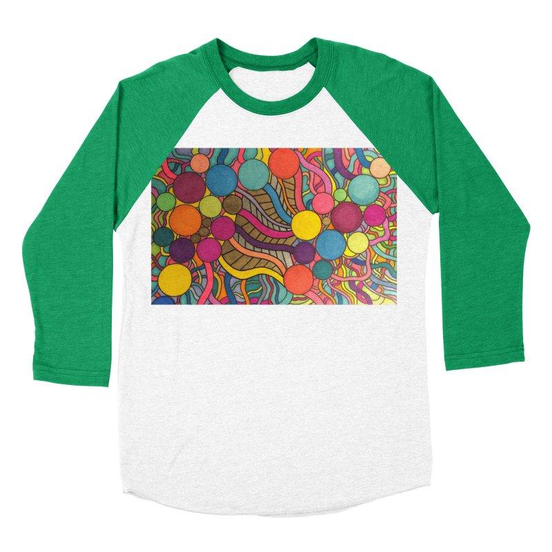 King Original Circles Men's Baseball Triblend Longsleeve T-Shirt by Kardboard King's Shop