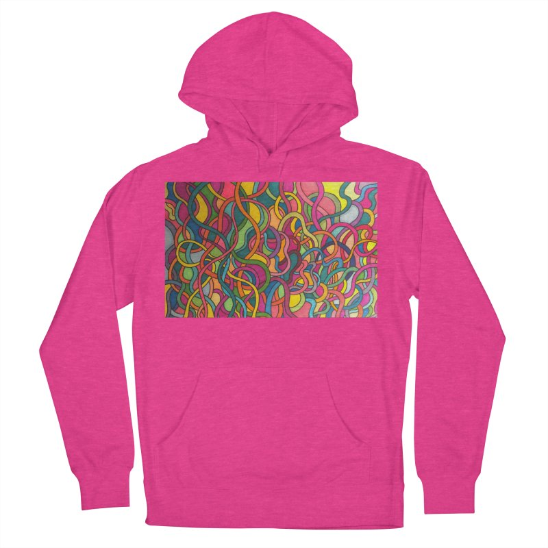 King Original Waves Women's French Terry Pullover Hoody by Kardboard King's Shop