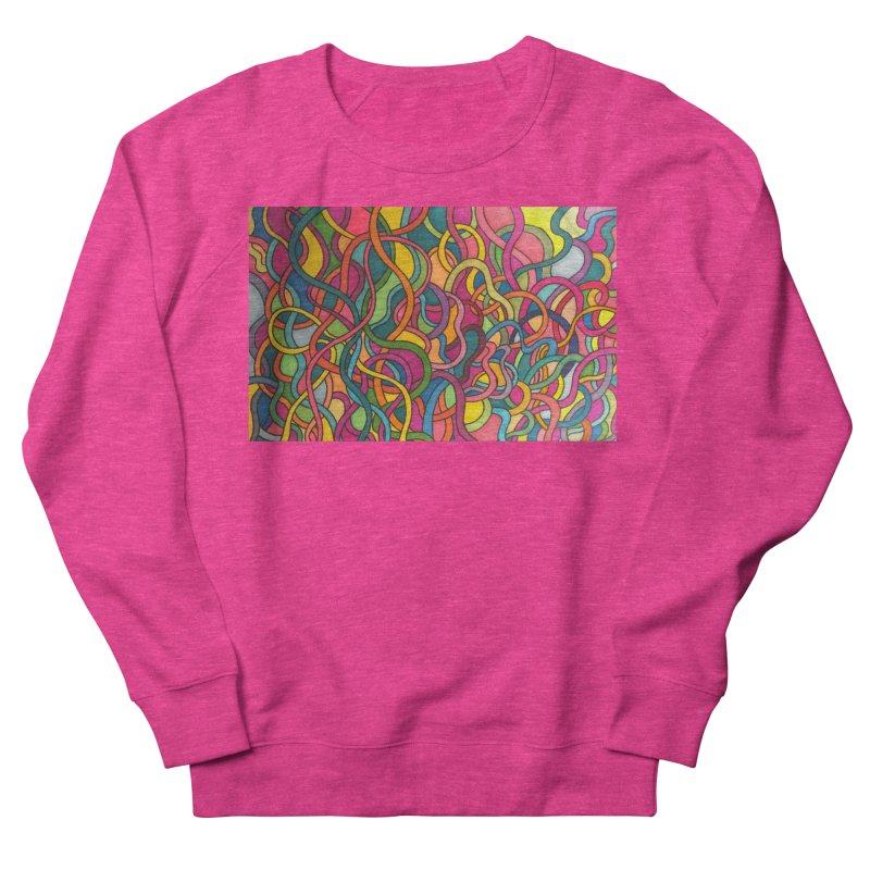 King Original Waves Women's French Terry Sweatshirt by Kardboard King's Shop