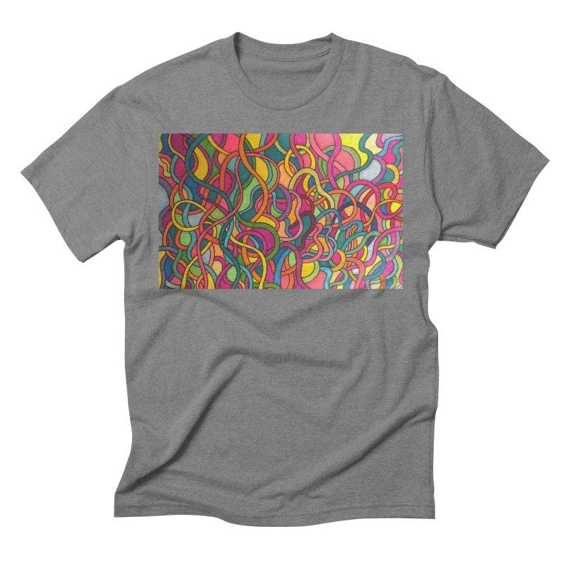 King Original Waves Men's Triblend T-Shirt by Kardboard King's Shop