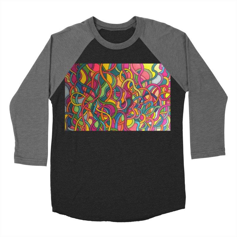 King Original Waves Women's Baseball Triblend Longsleeve T-Shirt by Kardboard King's Shop