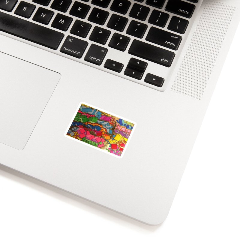 King Original Square Accessories Sticker by Kardboard King's Shop