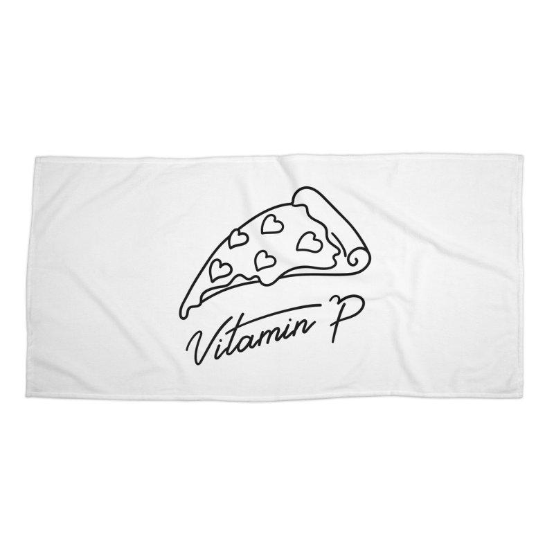 Vitamin P Accessories Beach Towel by Kika