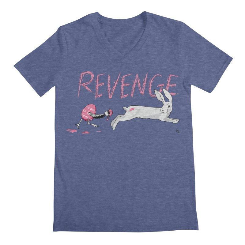 Easter Revenge Men's V-Neck by Kika