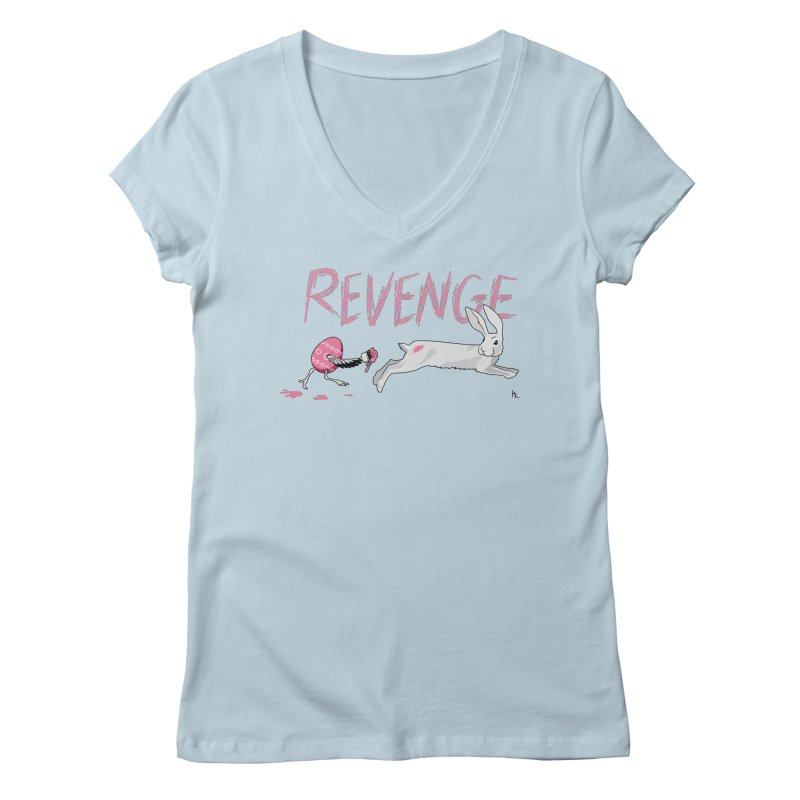 Easter Revenge Women's Regular V-Neck by Kika