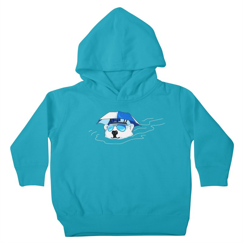 Global Warming Kids Toddler Pullover Hoody by Karina Zlott