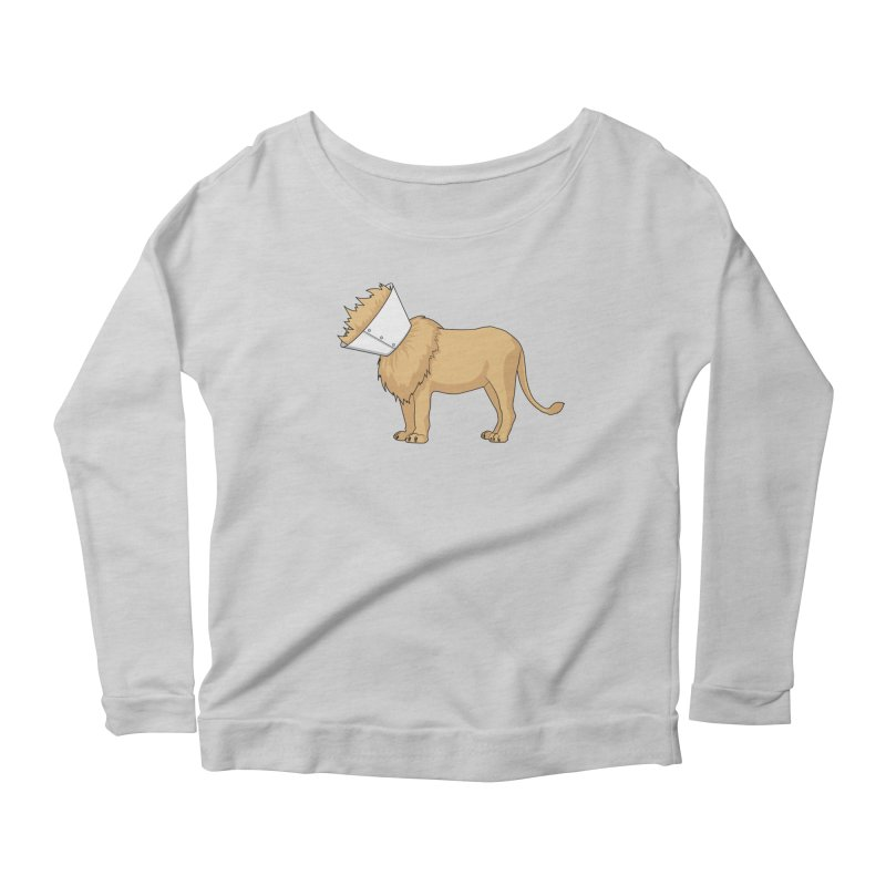 Fluffy Situation Women's Scoop Neck Longsleeve T-Shirt by Karina Zlott