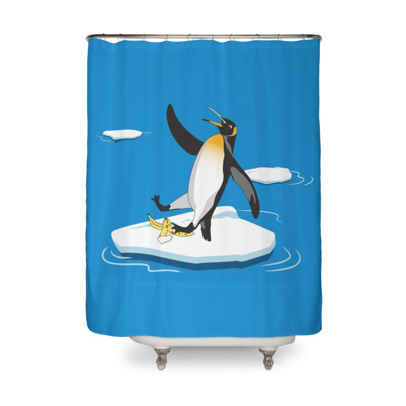 Super Slippery Home Shower Curtain by Kika