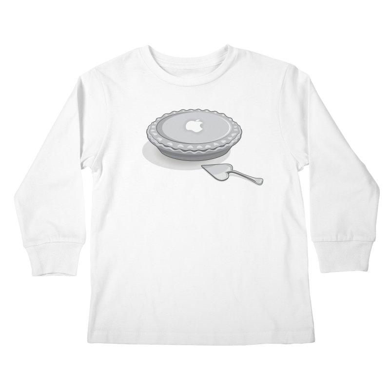 I Love iPie Kids Longsleeve T-Shirt by Karina Zlott