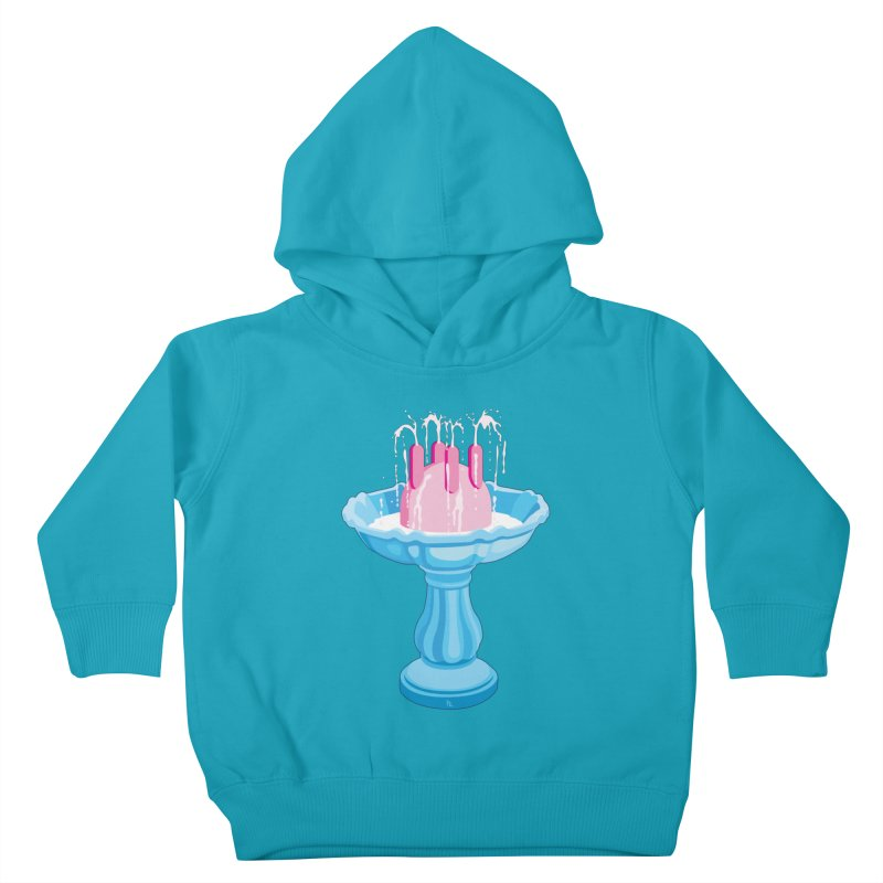 Milk Fountain Kids Toddler Pullover Hoody by Karina Zlott