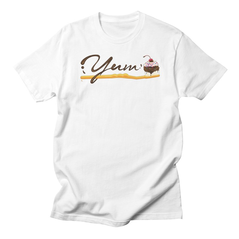 Yum! Men's Regular T-Shirt by Kika