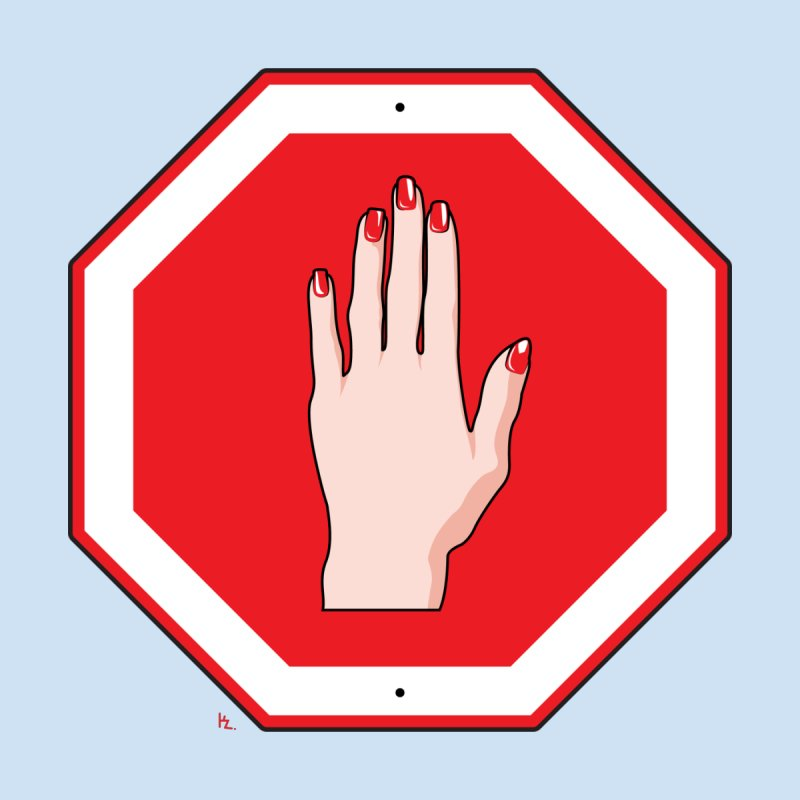Stop Sign by Kika