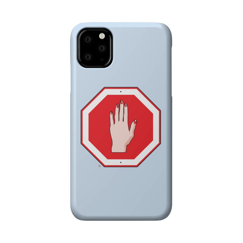 Stop Sign Accessories Phone Case by Kika