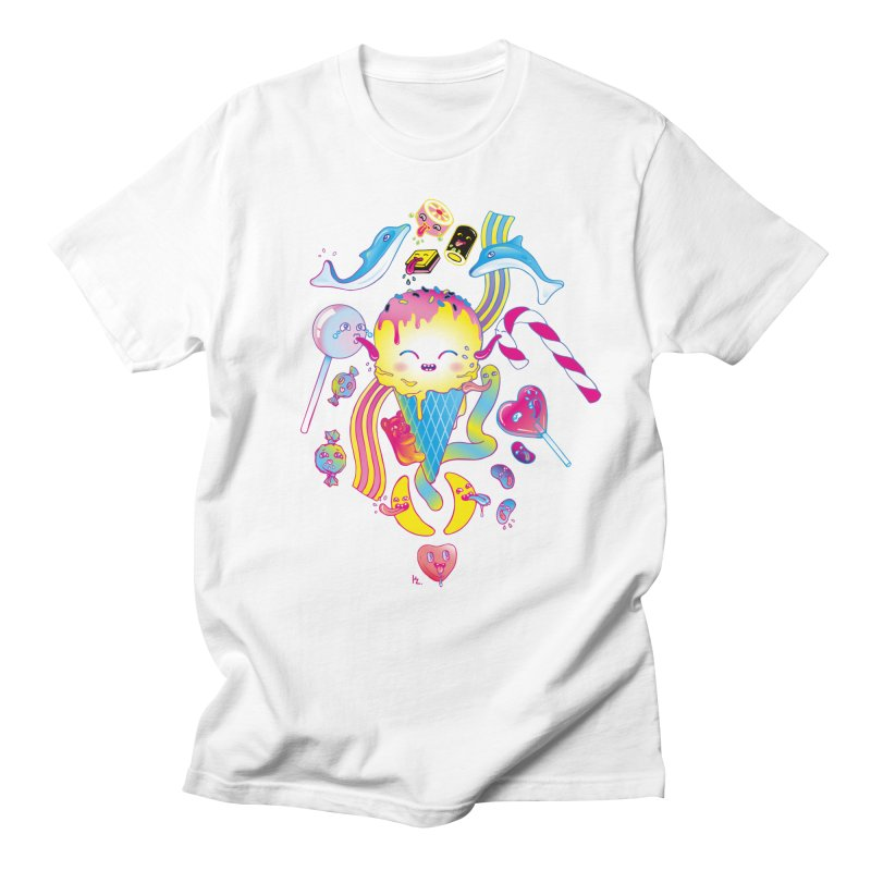 Sweet Party Men's Regular T-Shirt by Kika