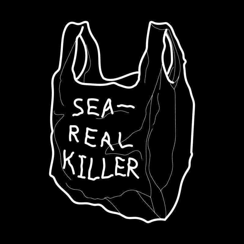 Sea Real Killer Men's V-Neck by Kika