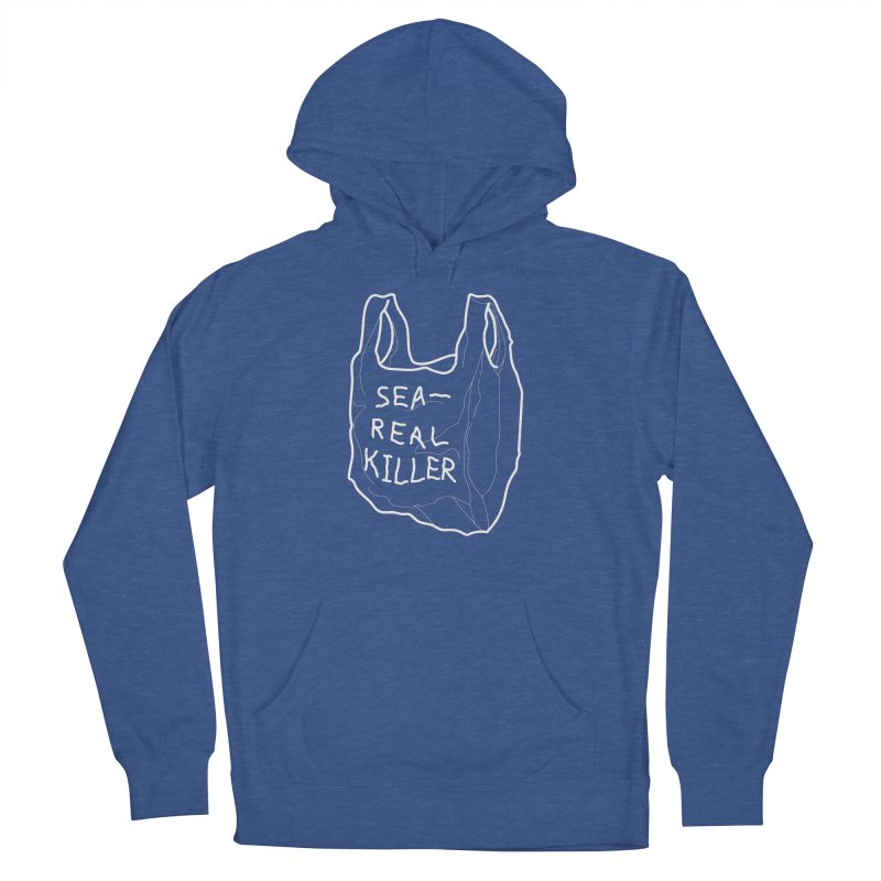 Sea Real Killer Women's French Terry Pullover Hoody by Kika