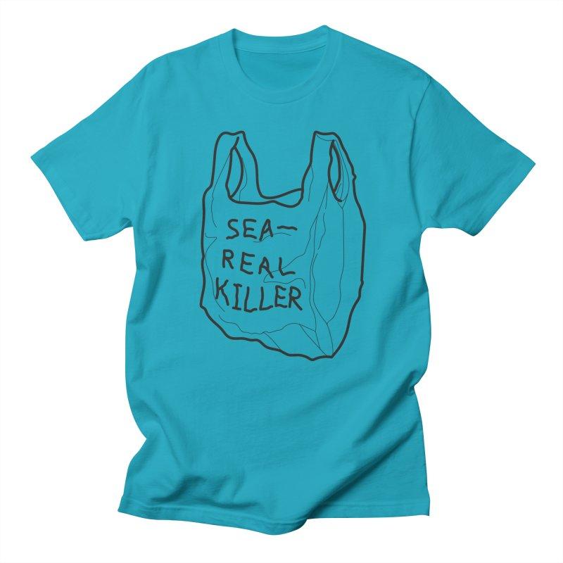 Sea Real Killer (Bright) Men's T-Shirt by Kika