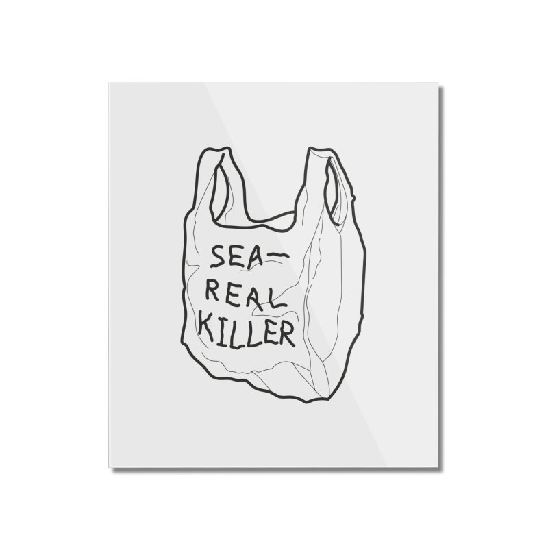 Sea Real Killer (Bright) Home Mounted Acrylic Print by Kika