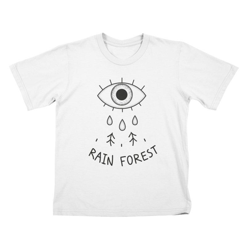 Rain Forest Kids T-Shirt by Kika