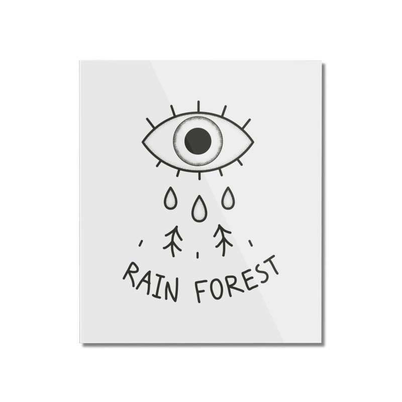 Rain Forest Home Mounted Acrylic Print by Kika