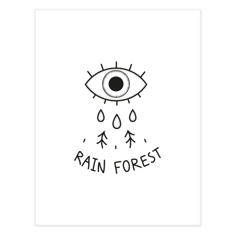 Rain Forest Home Fine Art Print by Kika