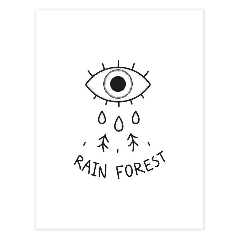 Rain Forest Home Fine Art Print by Kika