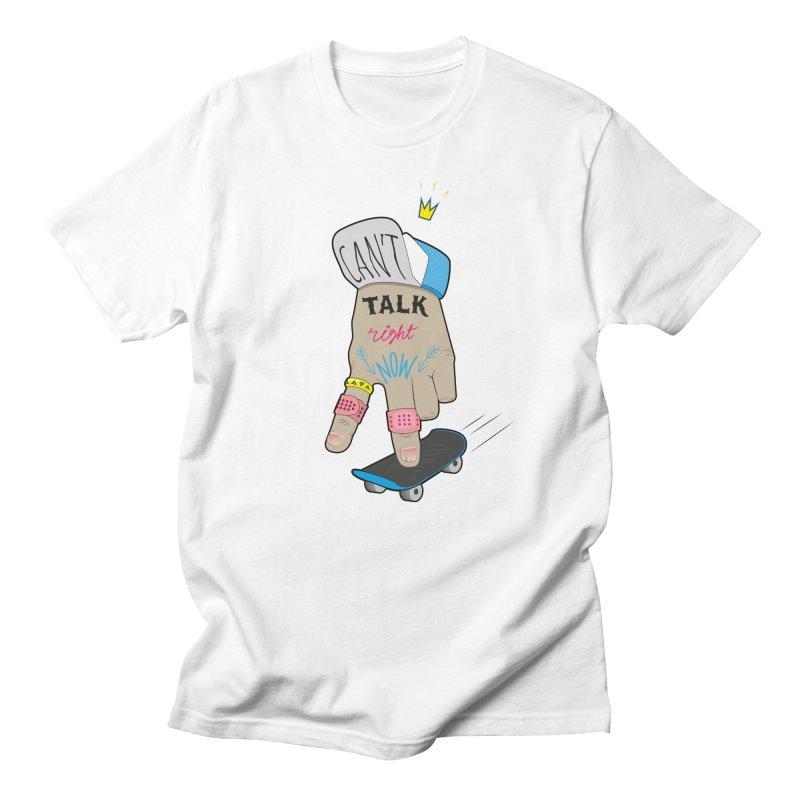 Can't Talk Right Now Men's Regular T-Shirt by Kika