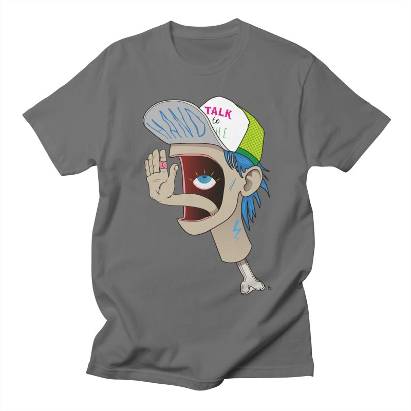 Talk to the Hand Men's Regular T-Shirt by Kika