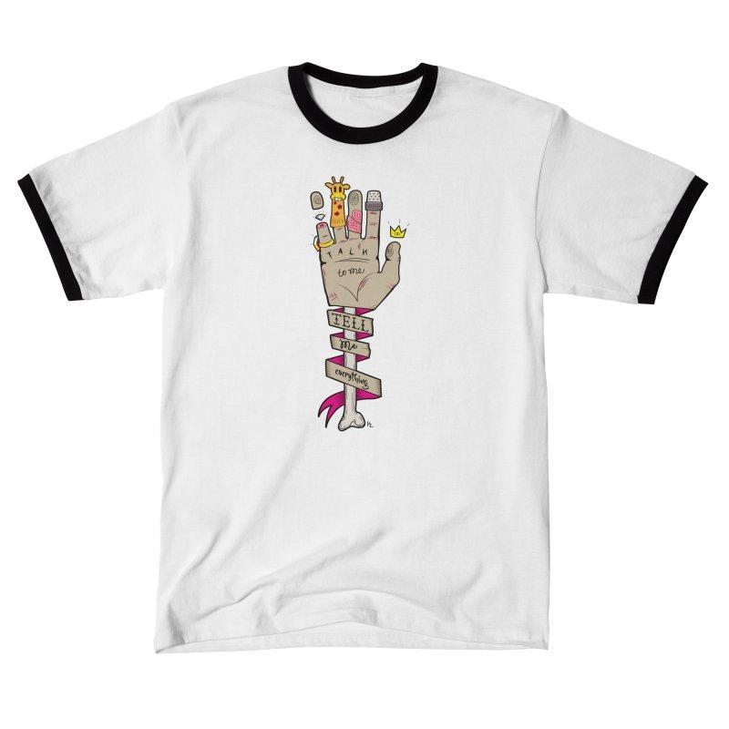 Tell me Everything Men's T-Shirt by Kika